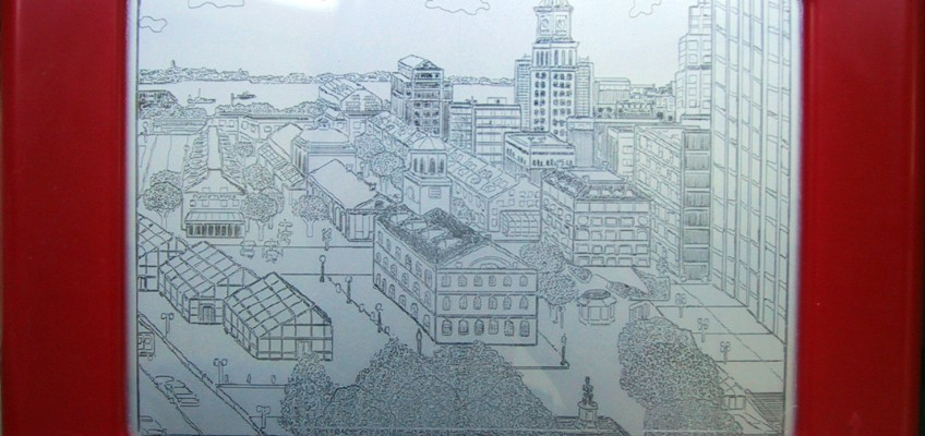 Etch-A-Sketch Boston