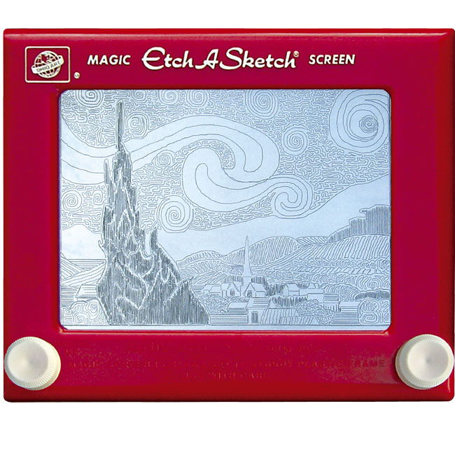 Etch-A-Sketch by Jeff Gagliardi