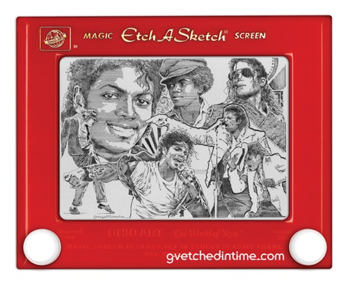 Etch-a-Sketch by George Vlosich III Michael Jackson