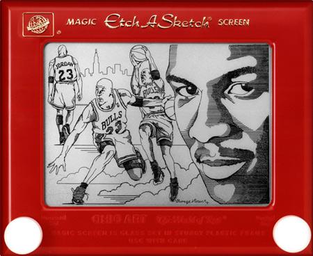 Etch-a-Sketch by George Vlosich III