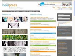 Heel Press website