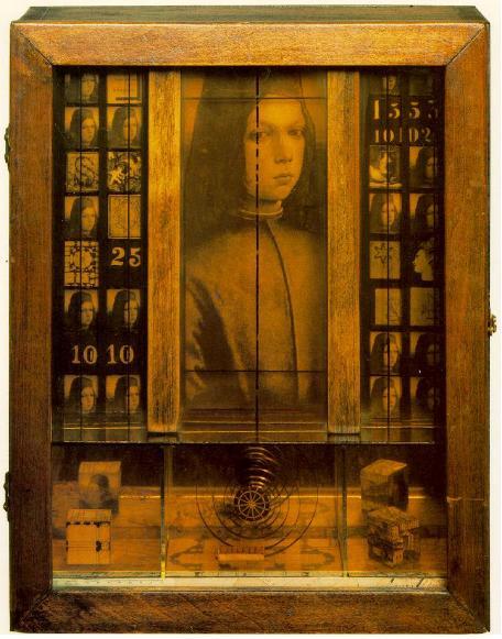 Joseph Cornell, Untitled (Medici Boy), 1942-1952