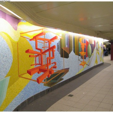 New York City subway art