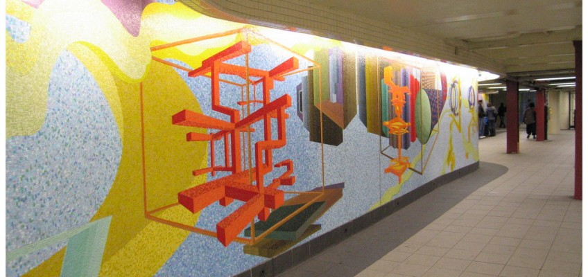 New York City subway art