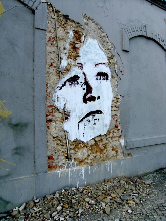 Alexandre Farto aka Vhils Wall Mural2