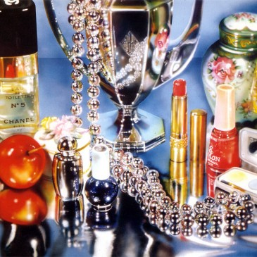 Audrey Flack – one of the founders of photorealism painting