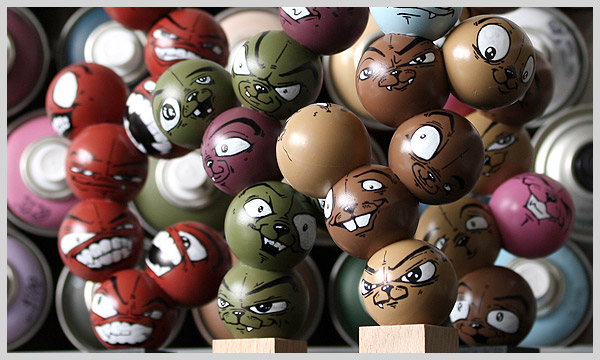 Bendali Patrick aka 2much ping pong balls2