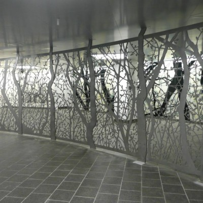 Doug Starn and Mike Starn, See It Split, See It Change, South Ferry Station
