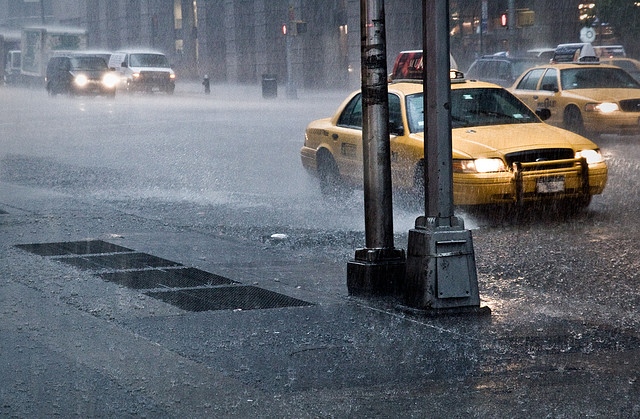 It's Raining by Baptiste Pons