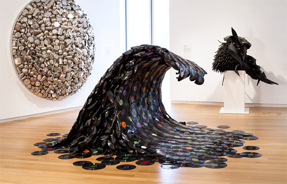 Jean Shin Sound Wave 2007 (vinyl records)