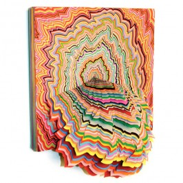 Paper sculptures – Jen Stark's creations burst with energy