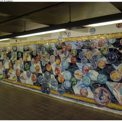 Lisa Dinhofer, Losing My Marbles, 42nd Street, Port Authority Bus Terminal