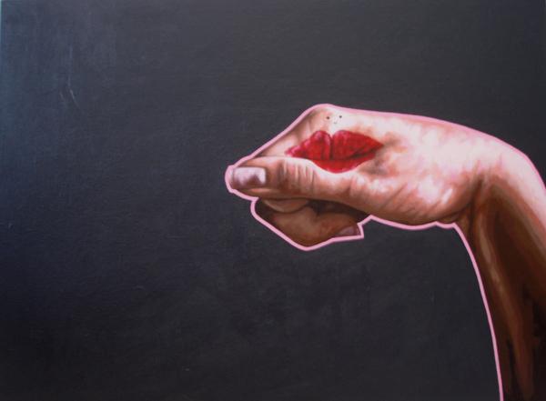 Self Portraits, Acrylic on canvas by Marike Kleynscheldt