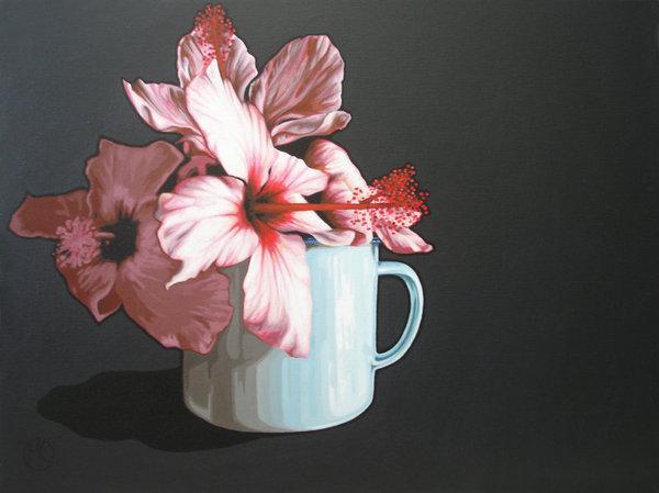 Still Life, Hibiscus, by Marike Kleynscheldt