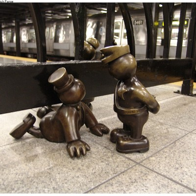 Tom Otterness, Life Underground, 14th Street