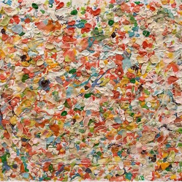Dan Colen's chewing gum paintings – edgy or over the edge?
