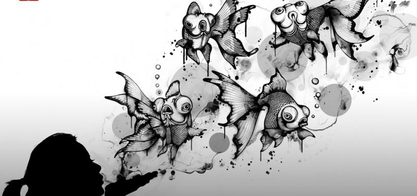 Blow Fish by Nanami Cowdroy