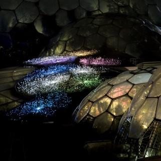 Bruce Munro Field of Light Eden Project6