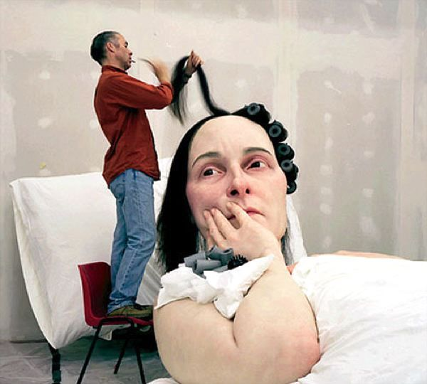 Ron Mueck In Bed 2005 (4)
