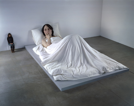 Ron Mueck In Bed 2005