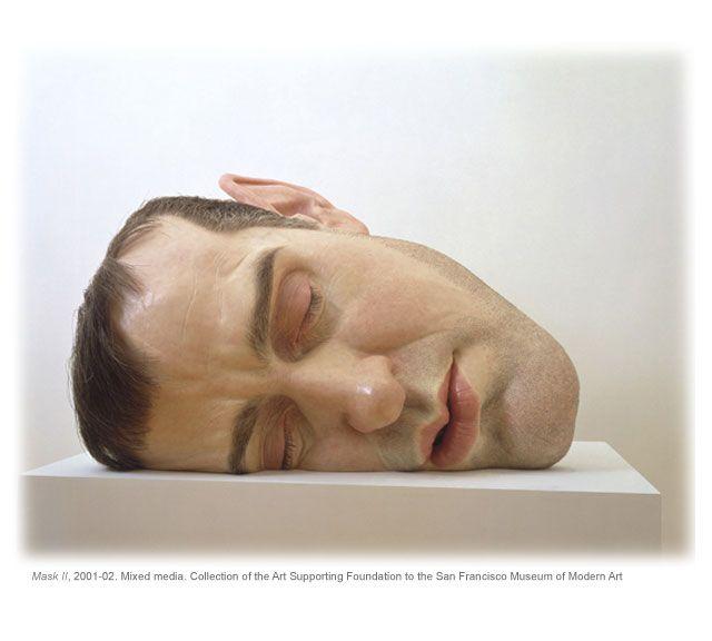 Ron Mueck Mask II 2001-2002