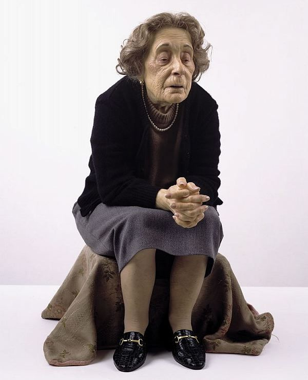 Ron Mueck Old Woman