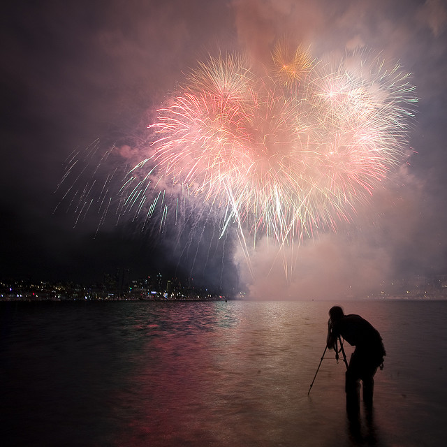Happy New Year! Firework photographs
