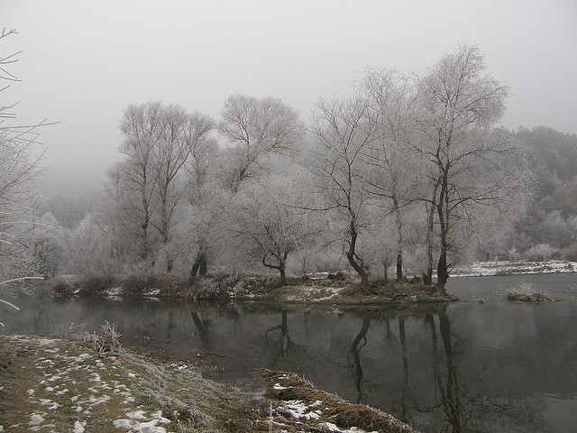 Struma River in Winter by Klearchos Kapoutsis