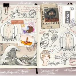 Moleskin Sketchbooks of Anna Rusakova