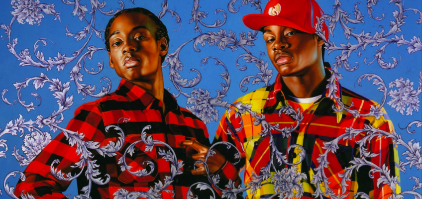 The striking portraits of Kehinde Wiley