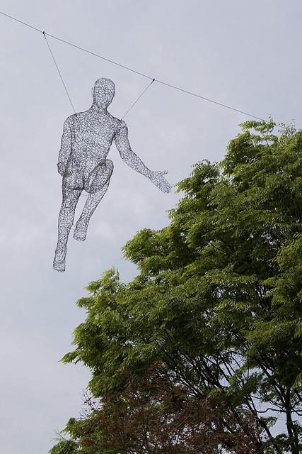 Human Sculpture in Seoul by FrancoisRoche