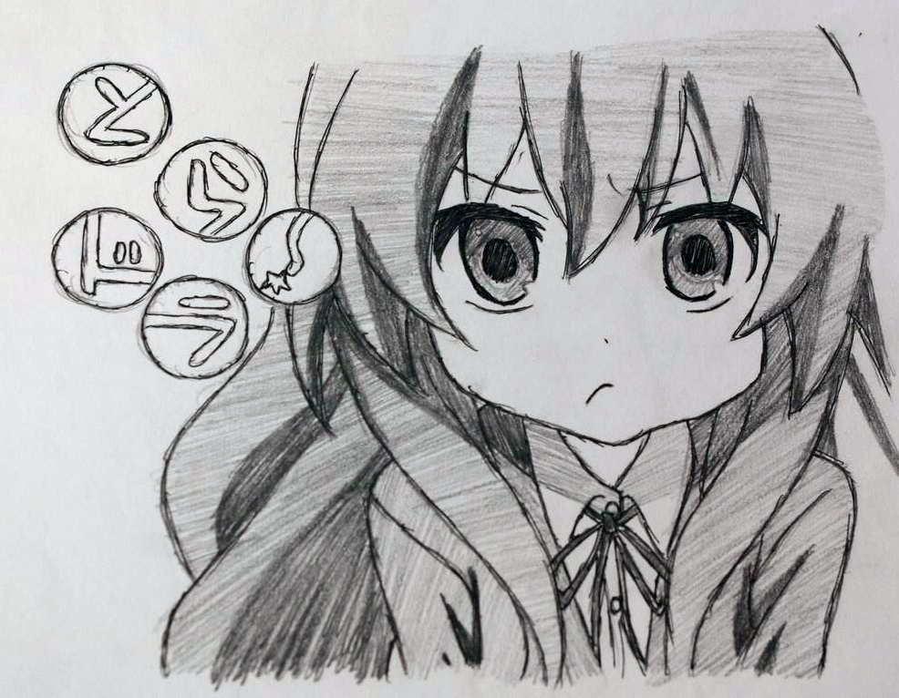 Manga drawings by Audrey Zhao