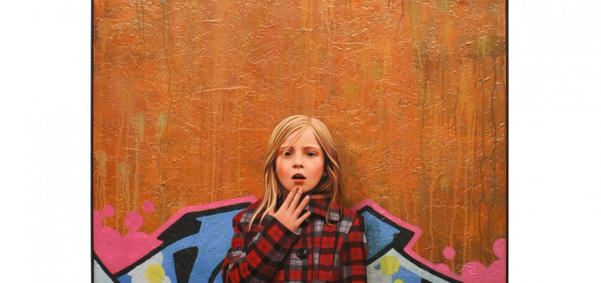 Graffiti Girl Paintings by Kevin Peterson