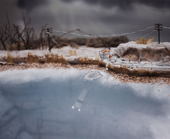 Ice Storm 1999 by Lori Nix