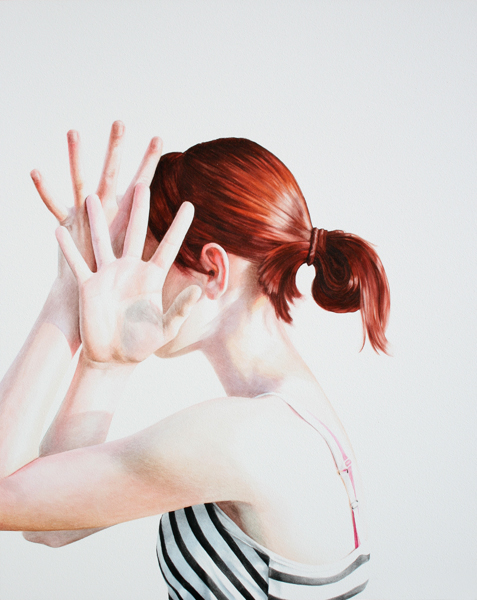 Watercolor fresco paintings of Ali Cavanaugh