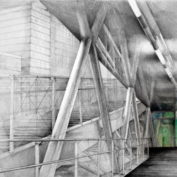 Architectural Drawings by Klara Ostaniewicz