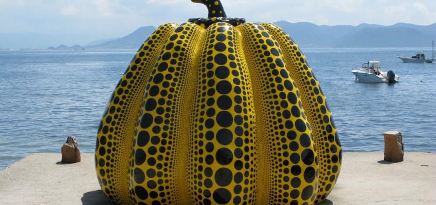 Dotted Pumpkin by Yayoi Kusama