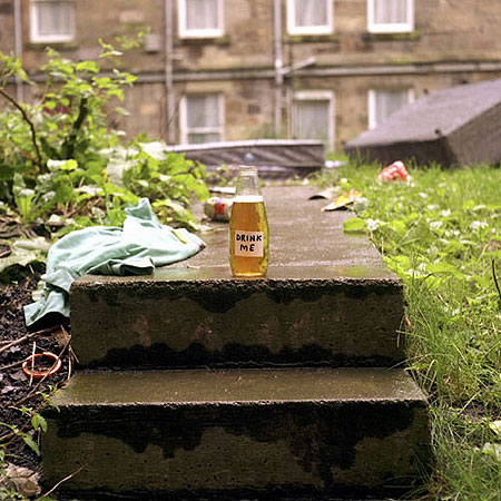 Drink Me photograph 1998 by David Shrigley
