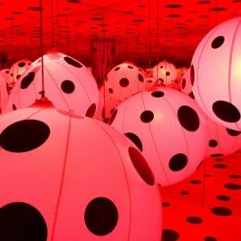 Bold Polka Dot Creations of Yayoi Kusama