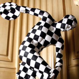 Geometric Sculptures and Paintings of Tofer Chin