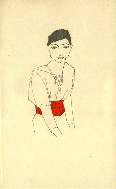 Red Illustration12 by Katia Sergeeva