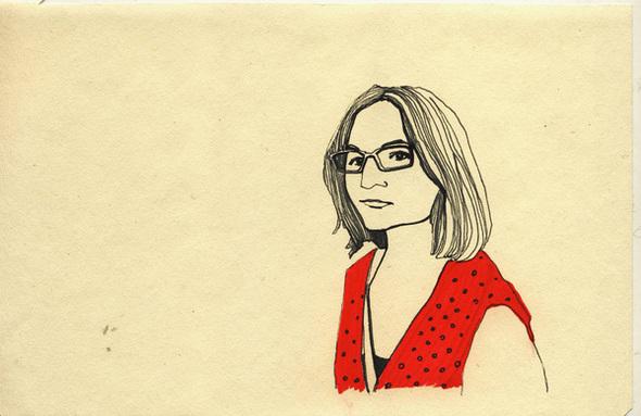 Red Illustration2 by Katia Sergeeva