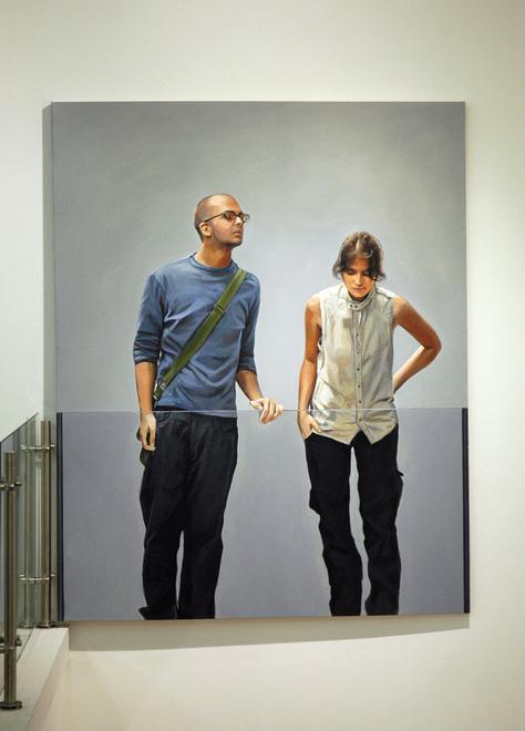 Painting by Pablo Guzman