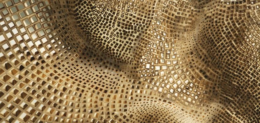 Fold, sculpture by John Grade