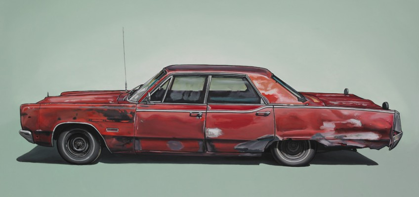 Dubois, Oil on Panel, 20″ x 30″ by Kevin Cyr