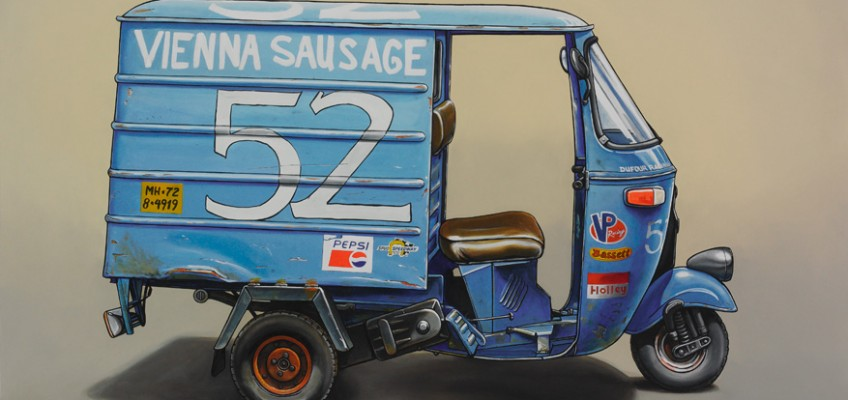 Dufour Racing, Oil on Panel, 36″ x 45″ by Kevin Cyr