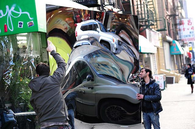 Mirror Street, New York NY Photograph by Jeff Colen