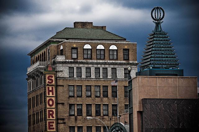 Shore Hotel in Coney Island, Brooklyn, photograph by Jeff Colen