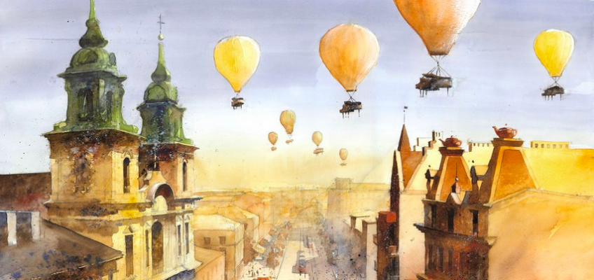 The Whimsical Watercolors of Tytus Brzozowski