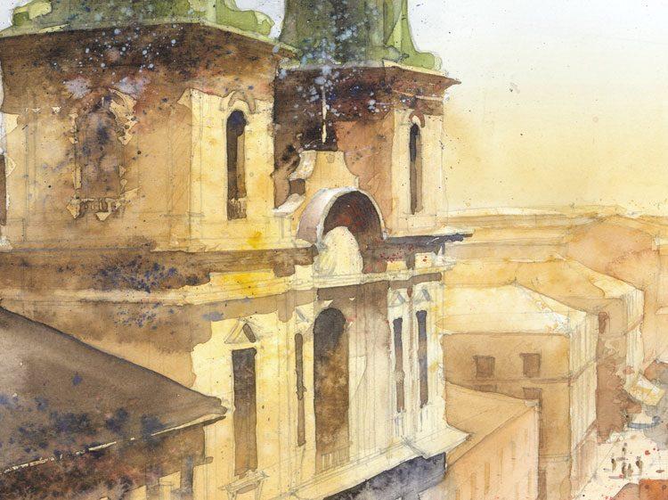 Watercolor by Tytus Brzozowski 11